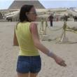 Film porno girato tra le piramidi, ricercata coppia di russi FOTO
