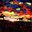 VIDEO YouTube. Come dipinge un pittore cieco? Le opere di John Bramblitt 9