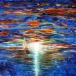VIDEO YouTube. Come dipinge un pittore cieco? Le opere di John Bramblitt 8