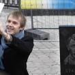 Putin raffigurato come Hitler02