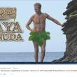 Isola dei Famosi, Rocco Siffredi nudo a Playa Desnuda008