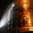 Russia, Mosca. Spento incendio monastero Novodevichy09