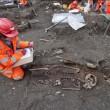 Londra, 3mila scheletri sotto a Liverpool street: morti per peste nel 1665 FOTO