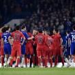 VIDEO YouTube, Ibrahimovic espulso in Chelsea-Psg: fallo su Oscar 01