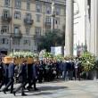 Tunisi, Orazio Conte e Antonella Sesino: funerali Torino, applauso accoglie feretri 07