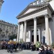 Tunisi, Orazio Conte e Antonella Sesino: funerali Torino, applauso accoglie feretri 04