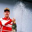 "VIDEO YouTube Sebastian Vettel esulta in radio: ""Sì ragazzi, forza Ferrari""6\"