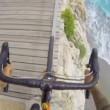 VIDEO YouTube: Vittorio Brumotti, campione bike trial in bici a picco sul mare su rignhiera2