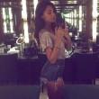 Belen Rodriguez sexy su Instagram, body e tacchi a spillo 07