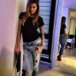 Cristina Buccino sexy in mutandine e t-shirt 06