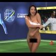 VIDEO YouTube - Legge una notizia su Cristiano Ronaldo e si spoglia (6)
