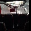 Turchia, sassi contro il bus del Besiktas di pallamano FOTO 3