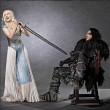 Emilia Clarke, la Daenerys Targaryen del Trono di Spade (Game of Thrones) FOTO