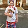 Kate Middleton, stampa e fan monarchia attendono l'arrivo del Royal baby12