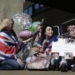 Kate Middleton, stampa e fan monarchia attendono l'arrivo del Royal baby17