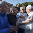 Sylvie Lubamba: papa Francesco le lava i piedi in carcere06