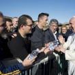 Sylvie Lubamba: papa Francesco le lava i piedi in carcere02