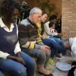 Sylvie Lubamba: papa Francesco le lava i piedi in carcere8