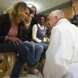 Sylvie Lubamba: papa Francesco le lava i piedi in carcere16