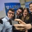Maria Elena Boschi, Marianna Madia e i ragazzi della Luiss FOTO
