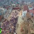 VIDEO YouTube: terremoto Nepal, drone sorvola Kathmandu distrutta