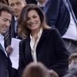 Alena Seredova con Alessandro Nasi allo stadio a vedere... Gigi Buffon 01