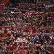 I tifosi del Bayern Monaco (foto Lapresse)