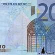 Stefanos, artista che disegna su banconote euro i morti suicidi per crisi FOTO 4