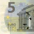 Stefanos, artista che disegna su banconote euro i morti suicidi per crisi FOTO 6