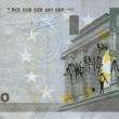 Stefanos, artista che disegna su banconote euro i morti suicidi per crisi FOTO 8