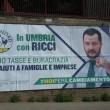 """Elezioni Umbria, errore su manifesto Matteo Salvini: """"Buracrazia"""" FOTO"""