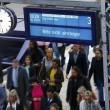 Germania, treni fermi sei giorni per sciopero FOTO 020