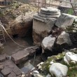 Roma, arco di Tito al Circo Massimo: ritrovati resti