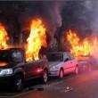Milano, auto in fiamme a corteo No Expo. Una è della ex di Salvini FOTO