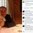 Silvio Berlusconi sbarca su Instagram con Dudù e Francesca Pascale FOTO4