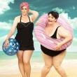 """""""Beth project"""": perde 68 chili, l'amico fotografo la ritrae prima e dopo FOTO"""