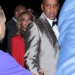 Beyonce superscollata all'incontro di boxe Floyd Mayweather10