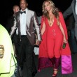 Beyonce superscollata all'incontro di boxe Floyd Mayweather05