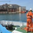 Costa Concordia, ultimo viaggio: relitto arriva ex Superbacino23