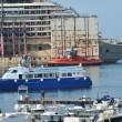 Costa Concordia, ultimo viaggio: relitto arriva ex Superbacino09