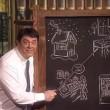 VIDEO YouTube, Maurizio Crozza imita Renzi alla lavagna