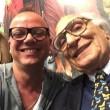 Gigi D'Alessio si iscrive ai Radicali, selfie con Pannella