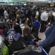Fiumicino, incendio aeroporto: passeggeri dormono a terra18