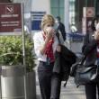 Fiumicino, incendio aeroporto: passeggeri dormono a terra08