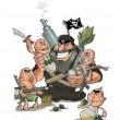 Iran premia la miglior vignetta anti-Isis FOTO 4