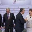 "Junker saluta premier ungherese Orban con un ""ciao dittatore"""