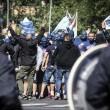 Lazio-Roma: due tifosi romanisti accoltellati vicino allo stadio Olimpico9