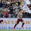 Lazio-Roma FOTO: scontri, stadio, striscioni e coreografie