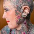 Isobel Varley, morta nonna più tatuata al mondo: 77 anni e tattoo su 93% corpo 2