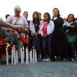 Roma, primi soccorsi vittime auto killer. Corazon Perez Abordo la vittima